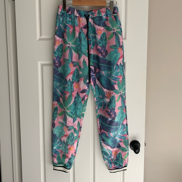 *SOLD* Tropical Bench sweatpants